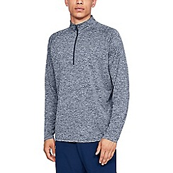 Under Armour - Blue 'UA Tech 2.0' 1/2 zip sweatshirt