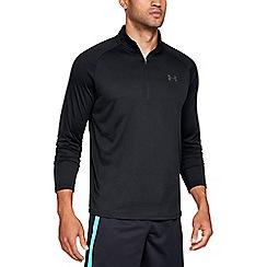 Under Armour - Black 'UA Tech 2.0' 1/2 zip sweatshirt