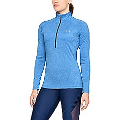 Under Armour - Blue 'UA Tech  Twist' 1/2 zip sweatshirt