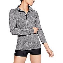 Under Armour - Grey 'UA Tech™ Twist' 1/2 zip sweatshirt