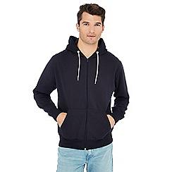 Jacamo - Black zip through hoodie