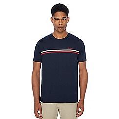 Ben Sherman - Navy chest stripe t-shirt