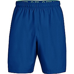 Under Armour - Blue 'UA Woven' graphic shorts