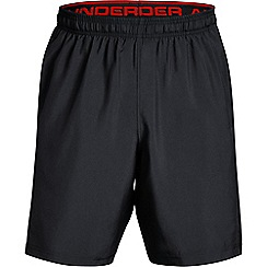Under Armour - Black 'UA Woven' graphic shorts