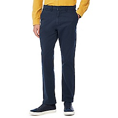 Jacamo - Navy regular length chino trousers