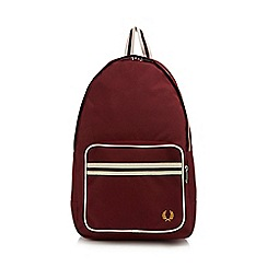 Fred Perry - Maroon twin tipped backpack