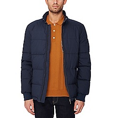 Ben Sherman - Navy quilted cotton jacket