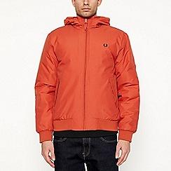 Fred Perry - Orange padded 'Brentham' jacket