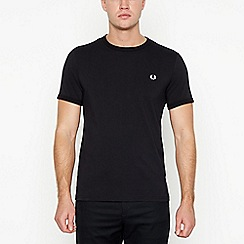 Fred Perry - Black cotton t-shirt