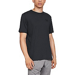 Under Armour - Black Charged Cotton® 'Sportstyle' Logo T-Shirt