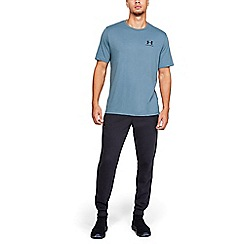Under Armour - Blue Charged Cotton® 'Sportstyle' Logo T-Shirt