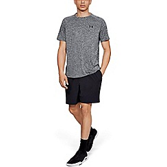 Under Armour - Big and tall dark grey 'tech  2.0' short sleeve t-shirt