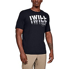 Under Armour - Black 'I Will 2.0' t-shirt
