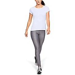 Under Armour - White 'HeatGear®' Armour Short Sleeve T-Shirt