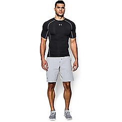 Under Armour - Black 'HeatGear®' Armour Short Sleeve T-Shirt