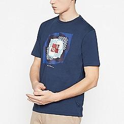 Ben Sherman - Big and tall navy square target t-shirt