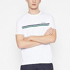 Ben Sherman - White Logo Print Cotton T-shirt