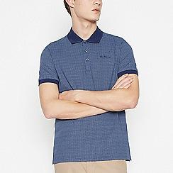 Ben Sherman - Blue Cotton Polo Shirt