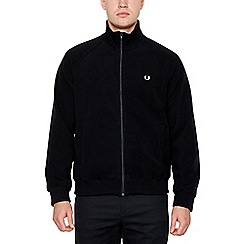 Fred Perry - Black Fleece Track Jacket