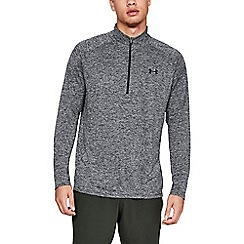 Under Armour - Grey 'Tech ' 2.01' 1/2 Zip Top
