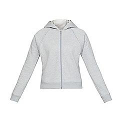 Under Armour - Grey 'Rival Fleece' hoodie