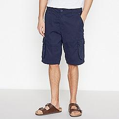 Jacamo - Navy Cotton Cargo Shorts