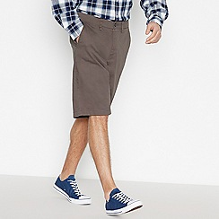 Jacamo - Dark Grey Chino Shorts