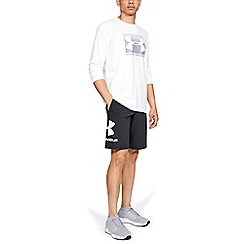 Under Armour - Black Charged Cotton 'Sportstyle' Graphic Shorts