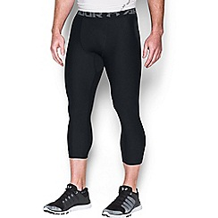 Under Armour - Big and tall black '2.' leggings