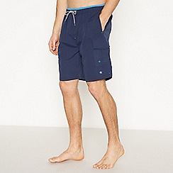 Jacamo - Navy Cargo Swim Shorts