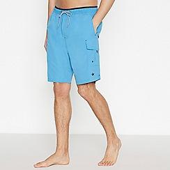 Jacamo - Blue Cargo Swim Shorts