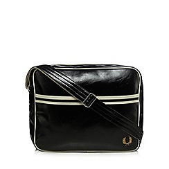 Fred Perry - Black essential shoulder bag