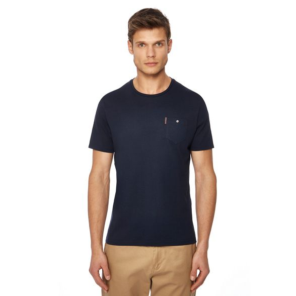 chest tall pocket Sherman shirt and t navy Ben Big TtqRXS
