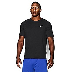 Under Armour - Black logo print t-shirt