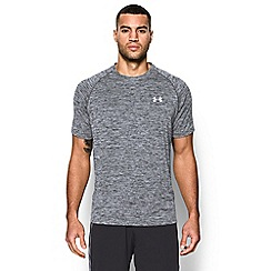 Under Armour - Grey logo print t-shirt