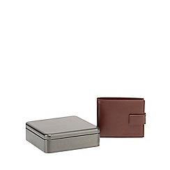 RJR.John Rocha - Brown leather wallet