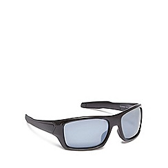 Mantaray - Black plastic rectangular sunglasses