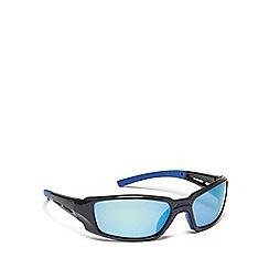 Mantaray - Black plastic wrap sunglasses