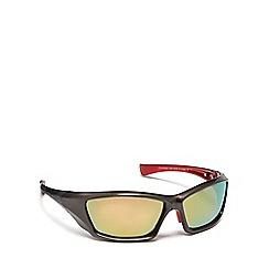 Mantaray - Brown plastic wrap sunglasses
