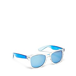 Red Herring - Blue plastic square sunglasses