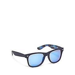 Red Herring - Blue plastic square sunglasses