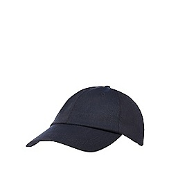 J by Jasper Conran - Navy textured baseball hat