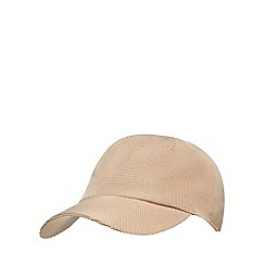 J by Jasper Conran - Cream knitted baseball hat