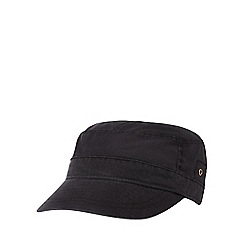 Mantaray - Black train driver hat