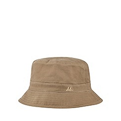 Mantaray - Brown car print reversible bucket hat
