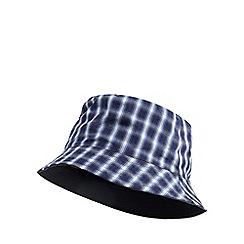 Mantaray - Blue checked reversible bucket hat 3342ac88a6b