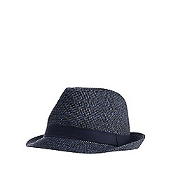Red Herring - Blue trilby hat