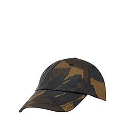 Red Herring - Multicoloured camouflage print water-resistant baseball hat