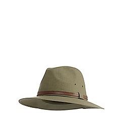 Osborne - Olive linen blend ambassador hat