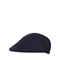 J by Jasper Conran - Navy knitted flat cap